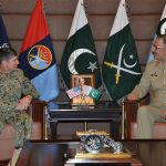 Commander US Naval Forces calls on CJCSC, lauds forces' role against terrorism