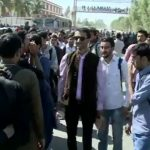 University students protest death of four students in Karachi