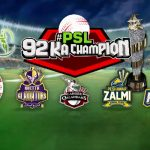 PSL third phase starts today; Karachi Kings faces Quetta Gladiators