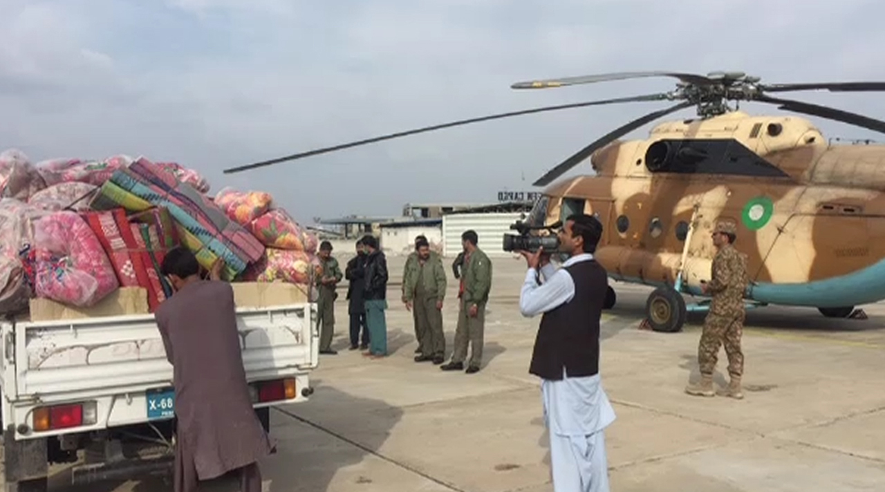 Relief goods delivered to Chitral avalanche victims on COAS's directions