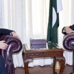 UN secretary general's special representative calls on Tariq Fatemi