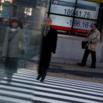 Asia stocks rise, euro steady as relief from French vote buoys sentiment