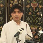 Blasphemcy case: Ch Nisar warns of serious action against social media