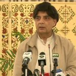 Ch Nisar says Sharjeel Memon should answer to his Rs 5b in court