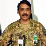 Haqqani's statement justifies stance of state institutions: ISPR DG