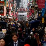 Japan inflation turns up for first time in year but BOJ goal still distant