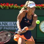 Kerber rallies to reach fourth round; Halep out