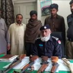 Around 100 held under operation Raadul Fasad