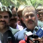 Sharjeel asks Ch Nisar to put names of PM, his children on ECL