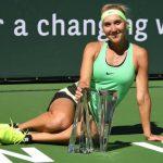 Vesnina outlasts Kuznetsova in marathon Indian Wells final