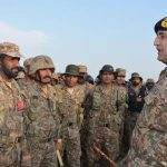 COAS visits Multan Garrison, briefed over operational preparedness
