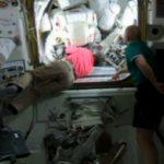 Astronauts complete spacewalk to retrofit space station