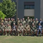 Trilateral meeting for action against Daesh held at GHQ