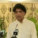 Terrorism graph in Pakistan declined sharply: Ch Nisar
