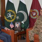US Ambassador David Hale calls on COAS Gen Qamar Javed Bajwa