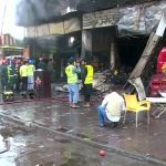 Fire guts five shops in Lahore
