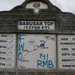 Six tourists die as vehicle falls into ditch at Babusar Top