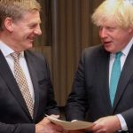 UK's Boris Johnson plays down Conservative rift, NZ near top of trade deal queue