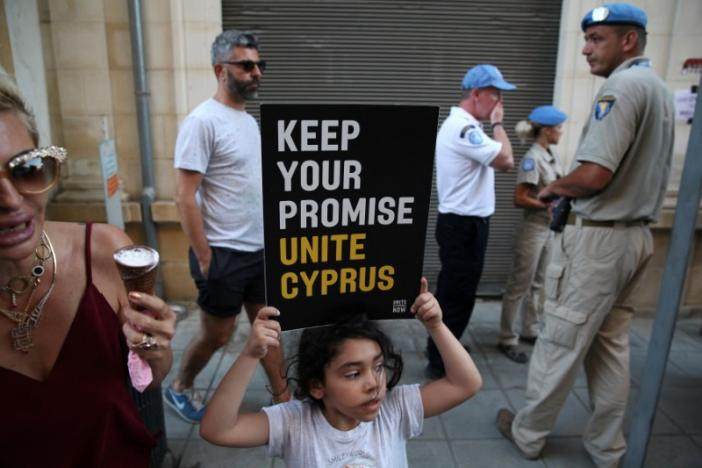 Cyprus reunification talks collapse, UN chief 'very sorry'