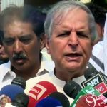 Javed Hashmi asks Chaudhry Nisar not to quit party