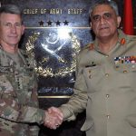 Commander US Forces in Afghanistan calls on COAS Gen Qamar Bajwa