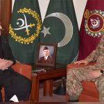 Balochistan CM calls on COAS Gen Qamar Javed Bajwa