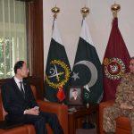 Chinese Ambassador pays farewell call to COAS Qamar Javed Bajwa