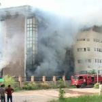 Fire at Islamabad's plaza leaves one dead, another injured