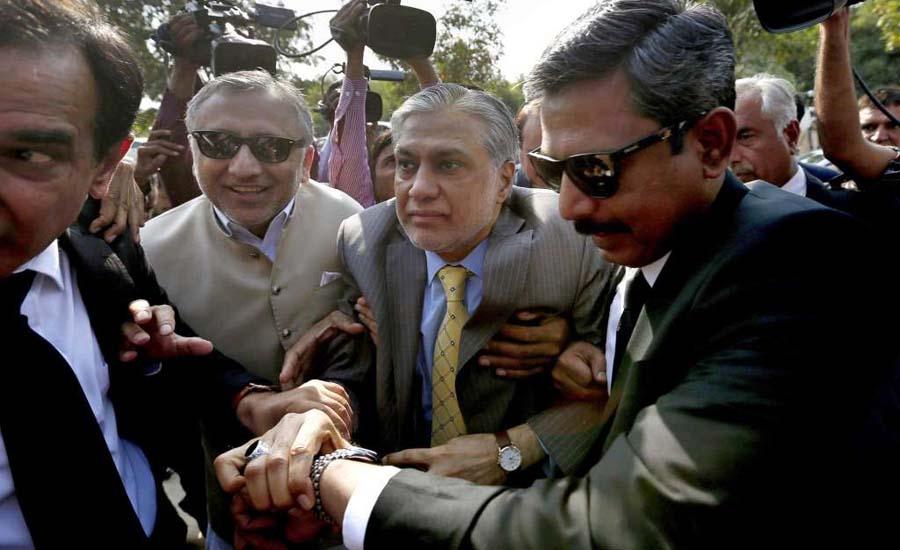 Accountability Court frames charges against Ishaq Dar