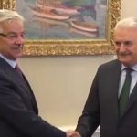 Foreign Minister Kh Asif calls on Turkish Prime Minister Binali Yildirim
