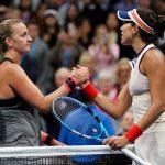Kvitova downs Muguruza to reach quarter-finals