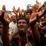 Humanitarian crisis in Bangladesh as 370,000 Rohingya flee Myanmar