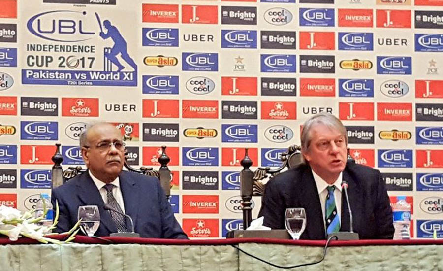 Pakistani govt, people played key role in bringing int'l cricket back: Giles Clark