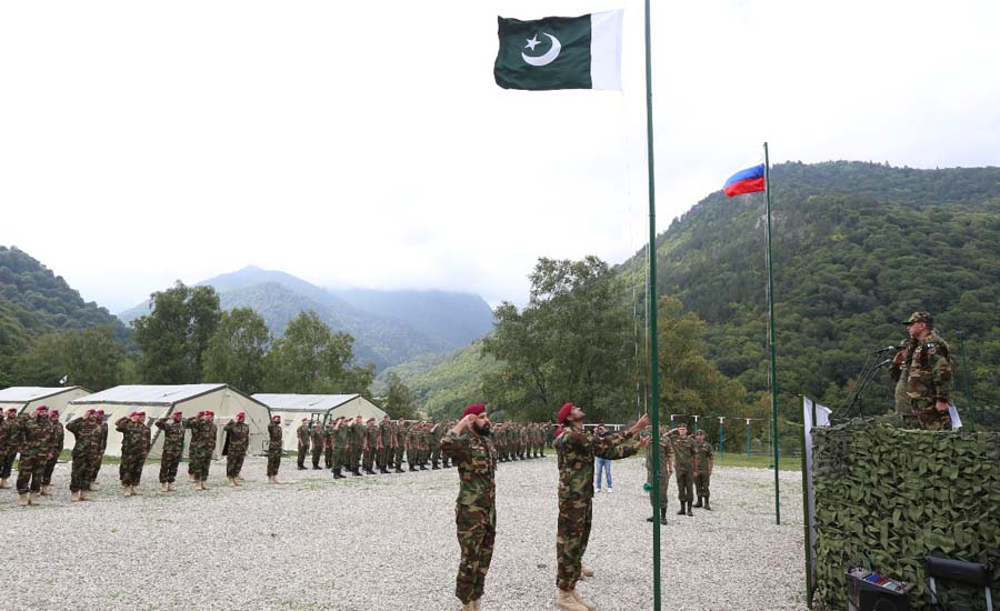 Pak-Russia joint exercise progressing smoothly