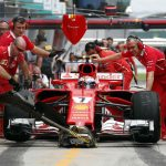 Raikkonen keeps Ferrari top in final Malaysia Grand Prix practice