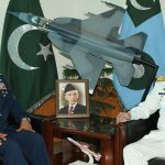 Chief of Naval Staff Admiral Zafar Abbasi visits Air Headquarters