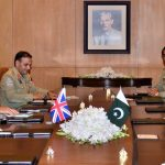 UK Army Chief Gen Nicholas Carter calls on COAS Gen Qamar Bajwa