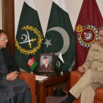 Afghan Ambassador Omar Zakhilwal calls on COAS Gen Qamar Bajwa