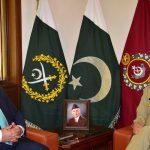 Defence Minister Khurram Dastgir calls on COAS Qamar Bajwa