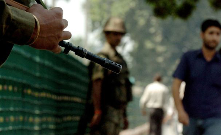 Indian troops martyr three youth in IoK