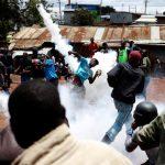 Boycott, shooting and tear gas mar Kenya election re-run