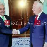 Foreign Minister Khawaja Asif calls on US counterpart Rex Tillerson