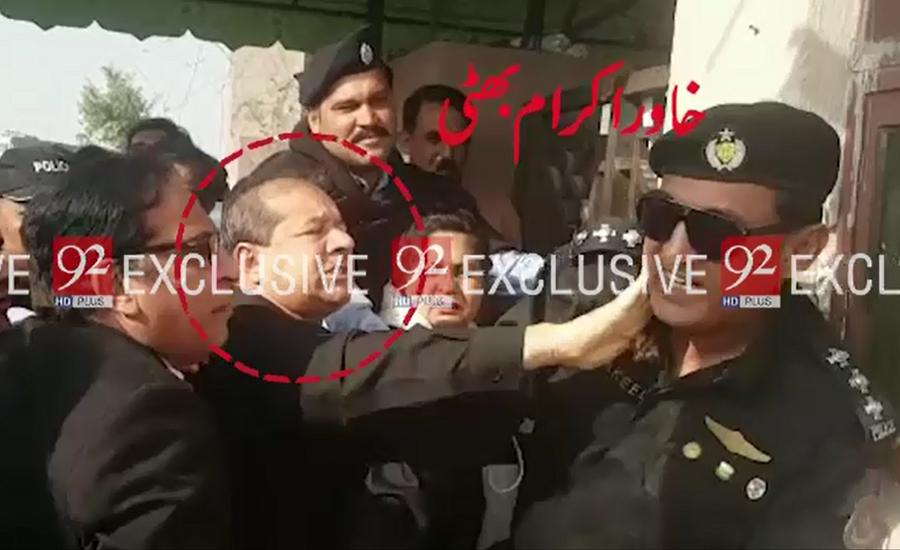 Police officer pardons AAG Khawar Ikram Bhatti