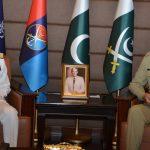 Admiral Zakaullah pays farewell call on CJCSC Gen Zubair Hayat