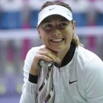 Sharapova wins first WTA title since return from ban