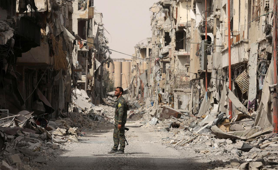 Russia accuses US-led coalition of 'barbaric' bombing of Syria's Raqqa