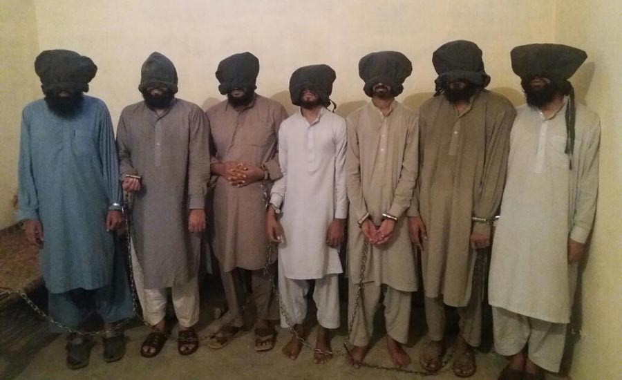 7 terrorists of banned outfit arrested in DI Khan