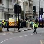 Several hurt in car incident near London museum