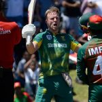 De Villiers finds sweet spot on South Africa return