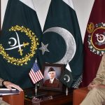 Commander US CENTCOM Gen Joseph L Votel calls on COAS Qamar Bajwa